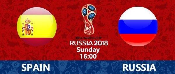 FIFA World Cup – 1/8 final: Spain vs. Russia