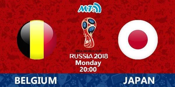 FIFA World Cup – 1/8 final: Belgium vs. Japan