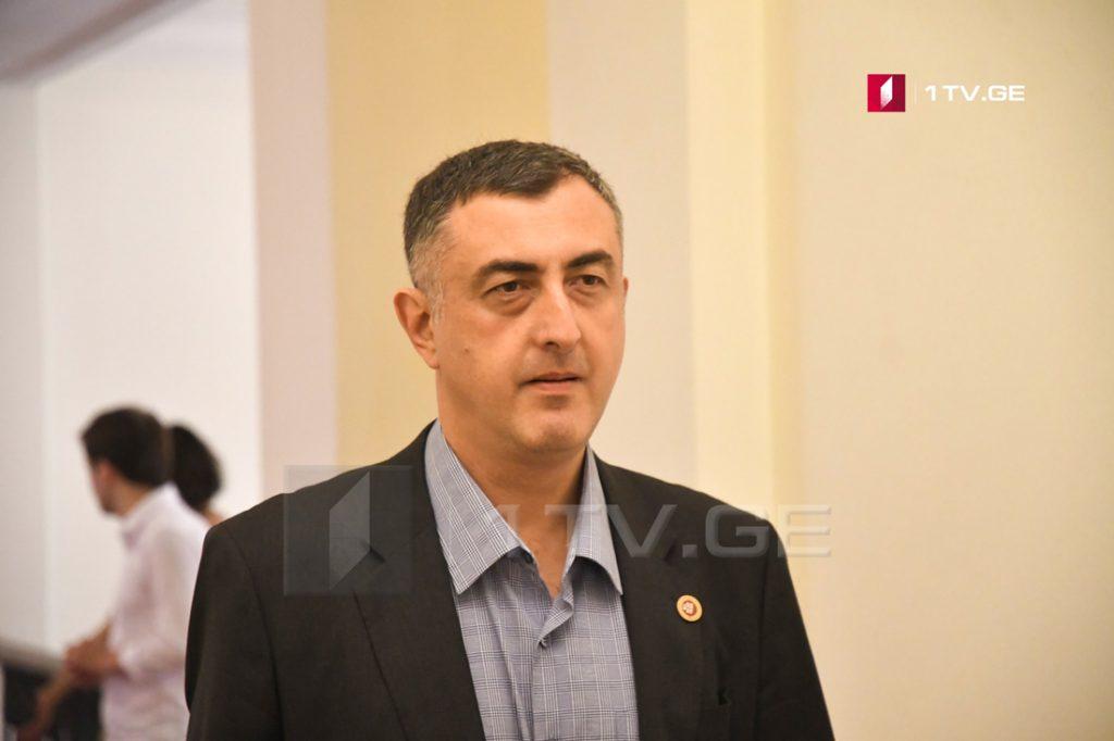 """""""Европейская Грузия"""" не примет участие в голосовании по конституционным изменениям в третьем чтении"""