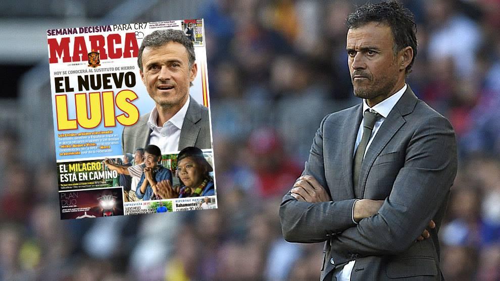 Marca - ესპანეთის ნაკრებს ლუის ენრიკე ჩაიბარებს