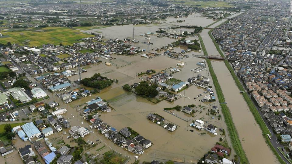 იაპონიაში სტიქიის შედეგად დაღუპულთა რიცხვმა 100-ს გადააჭარბა