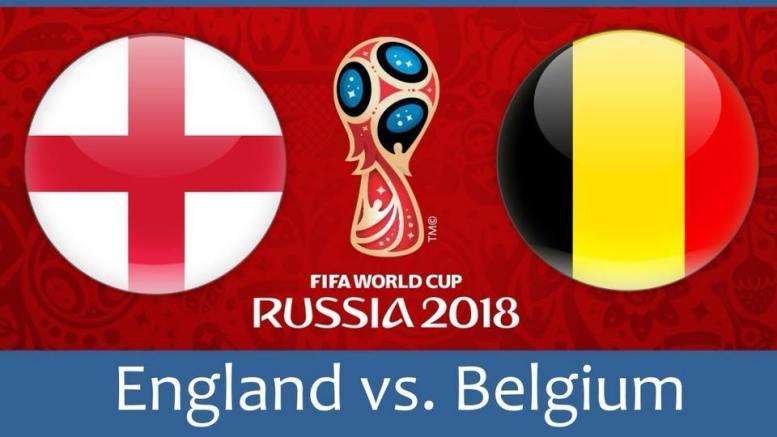 World Cup: Belgium vs. England