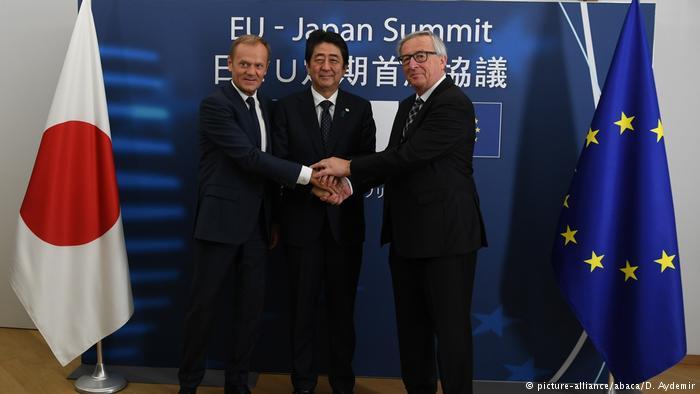 იაპონიამ და ევროკავშირმა თავისუფალ სავაჭრო შეთანხმებას მოაწერეს ხელი