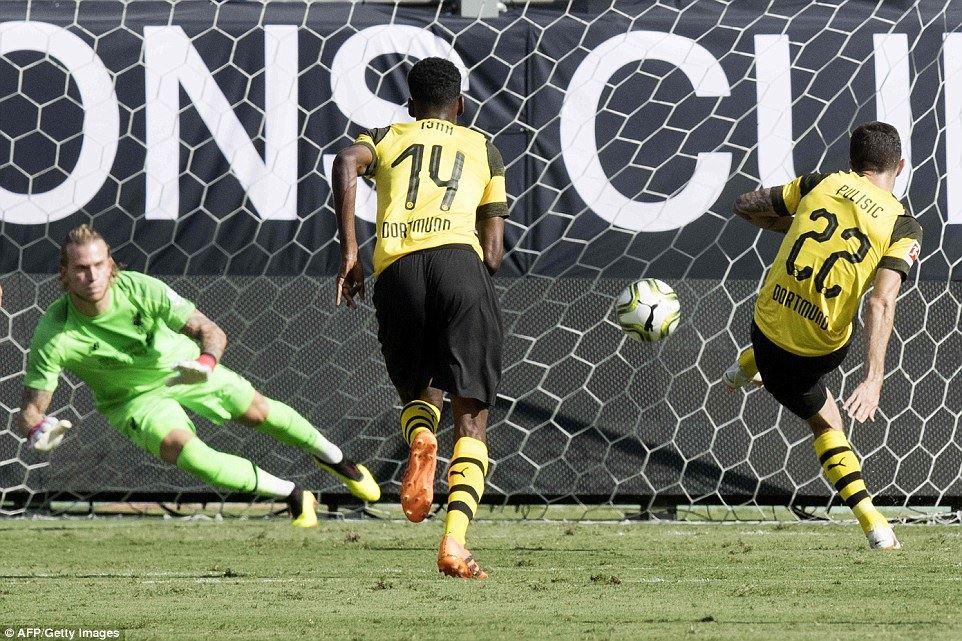 საერთაშორისო ჩემპიონთა თასი - დორტმუნდი-ლივერპული 3:1