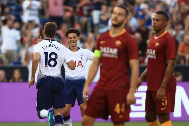 """საერთაშორისო ჩემპიონთა თასი - """"ტოტენჰემი""""-""""რომა"""" 4:1"""