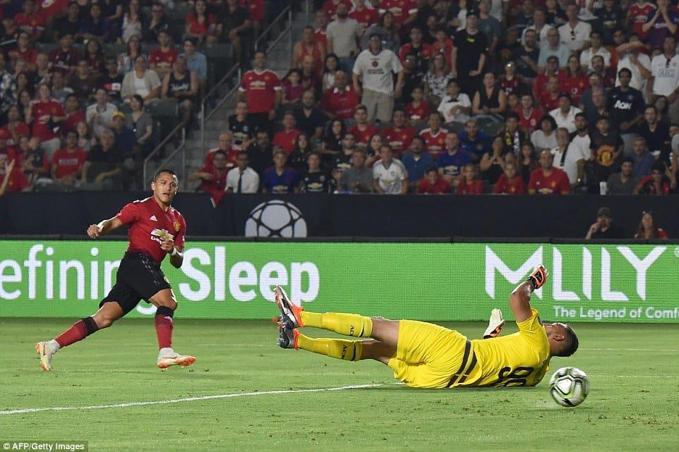 """საერთაშორისო ჩემპიონთა თასი - """"მანჩესტერ იუნაიტედი""""1-1 """"მილანი"""""""