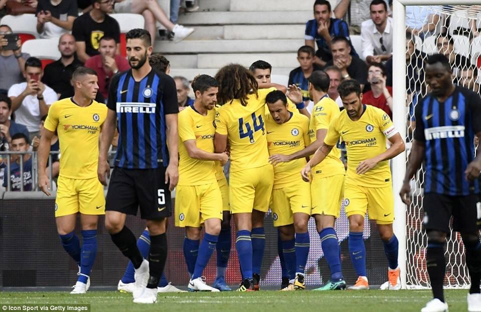 """საერთაშორისო ჩემპიონთა თასი - """"ჩელსი""""-""""ინტერი"""" 1:1"""