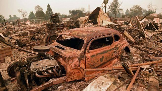 კალიფორნიაში მასშტაბური ხანძრის შედეგად დაღუპულთა რიცხვი ექვსამდე გაიზარდა