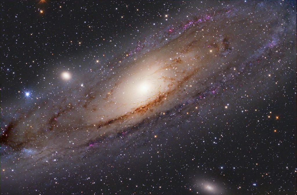 """ირმის ნახტომს დიდი """"ძმა"""" ჰყავდა, რომელიც ანდრომედამ შეჭამა - ახალი კვლევა"""