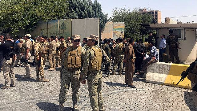 В иракском Эрбиле напали на правительственное здание