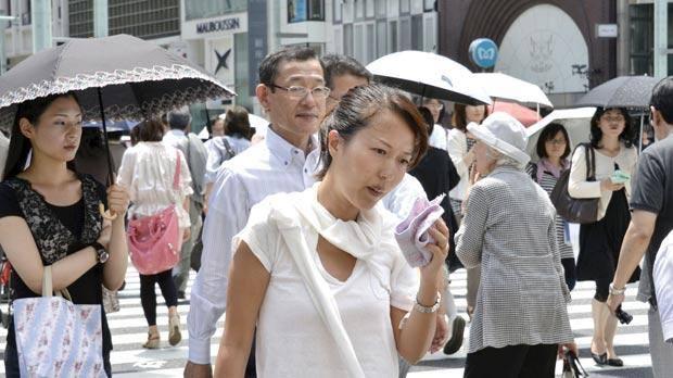 იაპონიაში, ბოლო ერთი კვირის განმავლობაში სიცხის შედეგად 65 ადამიანი დაიღუპა