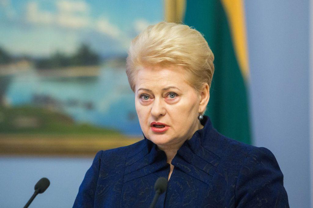 Даля Грибаускайте – Встреча с президентами Грузии и Украины является демонстрацией того, насколько важными являются страны для НАТО