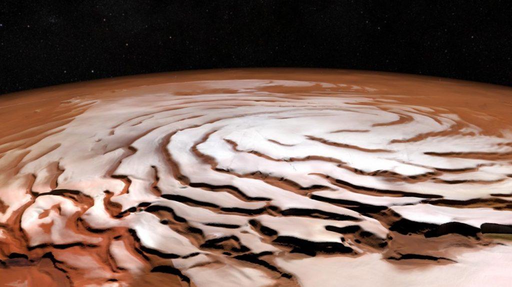 მარსის ზედაპირქვეშ თხევადი წყლის გიგანტური ტბა აღმოაჩინეს