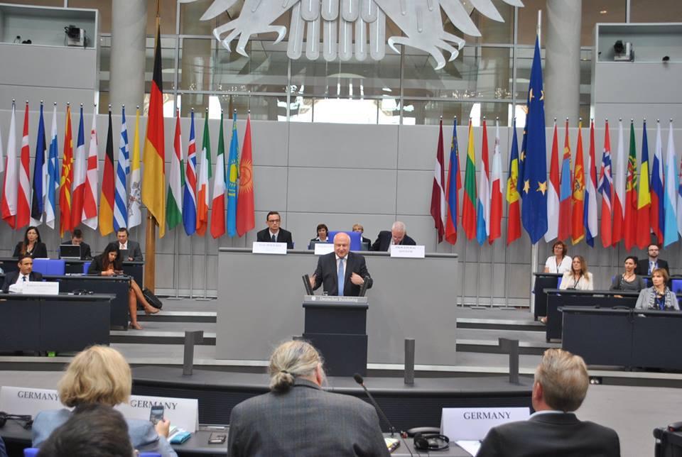Gigi Tsereteli elected as President of OSCE PA