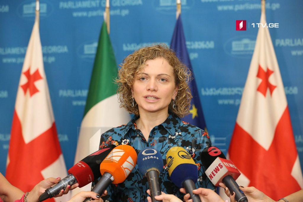 თამარ ხულორდავა - იტალიის პრეზიდენტმა საქართველოს ტერიტორიული მთლიანობის მიმართ ურყევი მხარდაჭერა კიდევ ერთხელ დაადასტურა