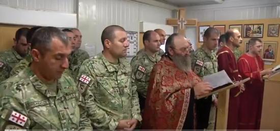 """ნატო-ს """"მტკიცე მხარდაჭერის"""" მისია ავღანეთში მყოფი ქართველი ჯარისკაცების შესახებ წერს და ვიდეოს აქვეყნებს"""