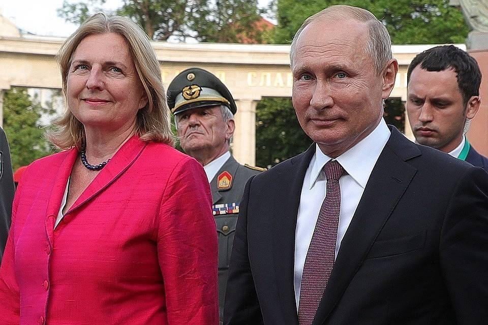 Times - პუტინის დაპატიჟება ავსტრიელი მინისტრის ქორწილში, ავსტრიის იმიჯზე უარყოფითად აისახება