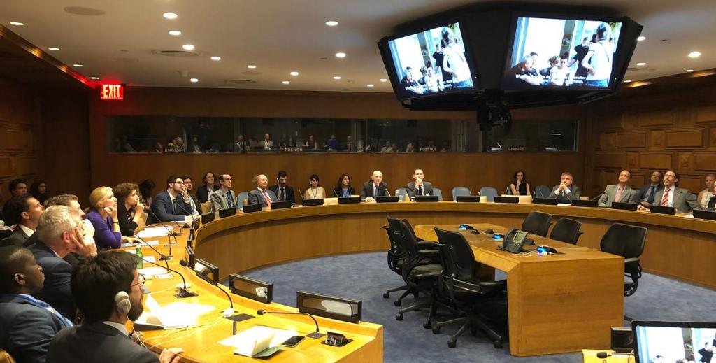 В ООН состоялся круглый стол в связи с 10-ой годовщиной российско-грузинской войны