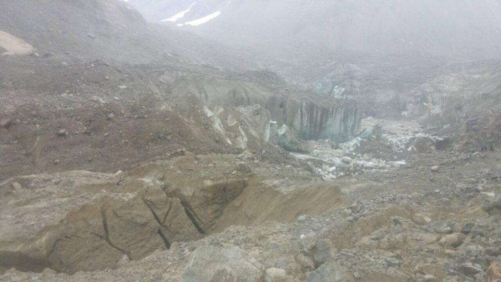 მესტიაში, მთიდან ყინულის ჩამოშლით წარმოქმნილი წყლის დაგუბება აღარ არსებობს და ყველა სახის რისკი მოხსნილია
