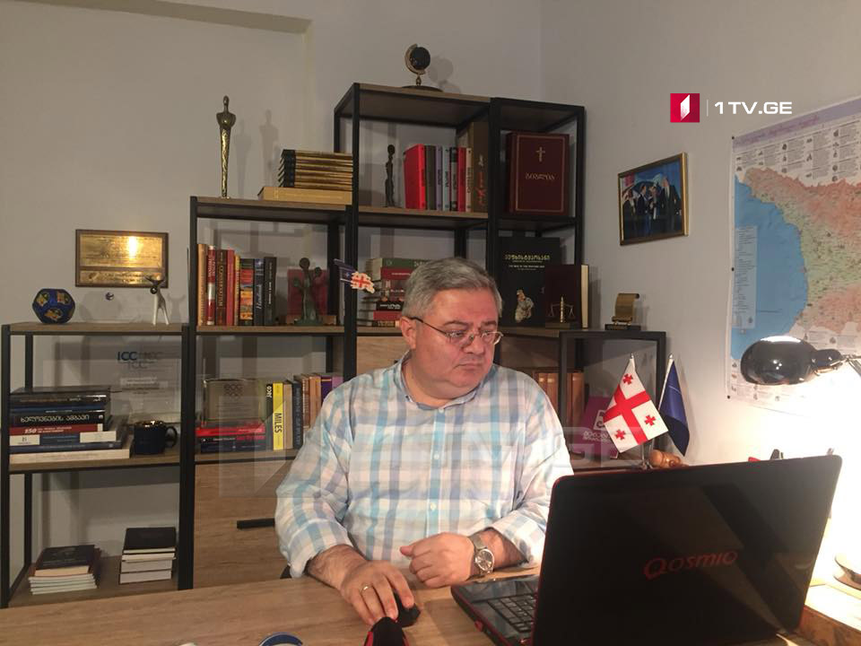 Давид Усупашвили -  Надеюсь победить Саломе Зурабишвили на выборах