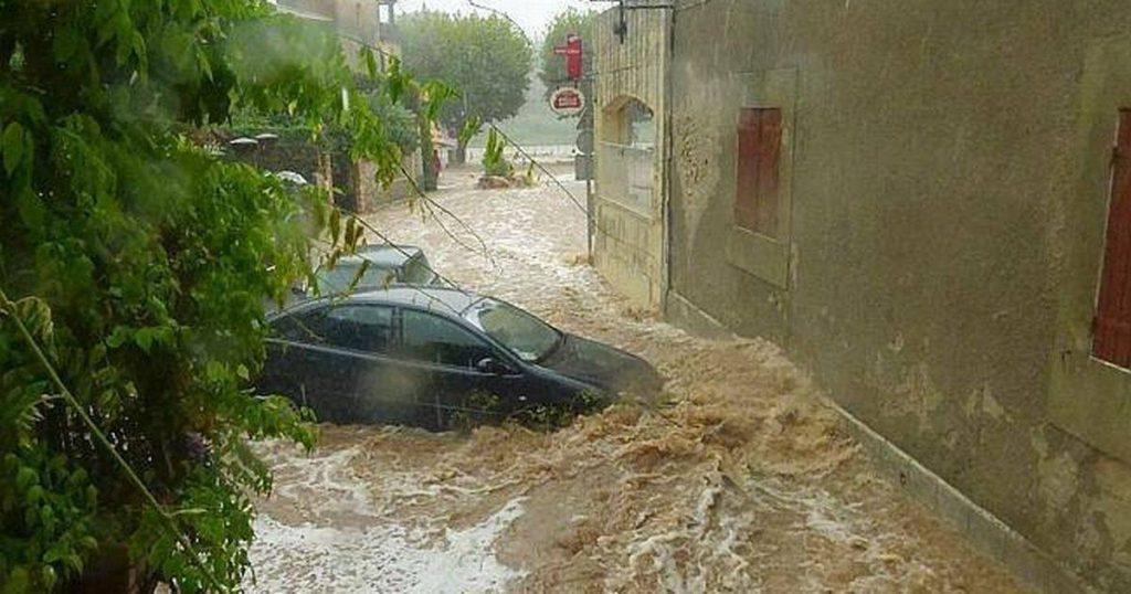 წყალდიდობის გამო, საფრანგეთის სამხრეთ რეგიონებიდან მოსახლეობის ევაკუაცია მიმდინარეობს