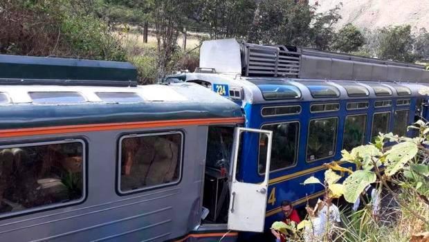 პერუში ორი მატარებლის შეჯახების შედეგად 31 ადამიანი დაშავდა