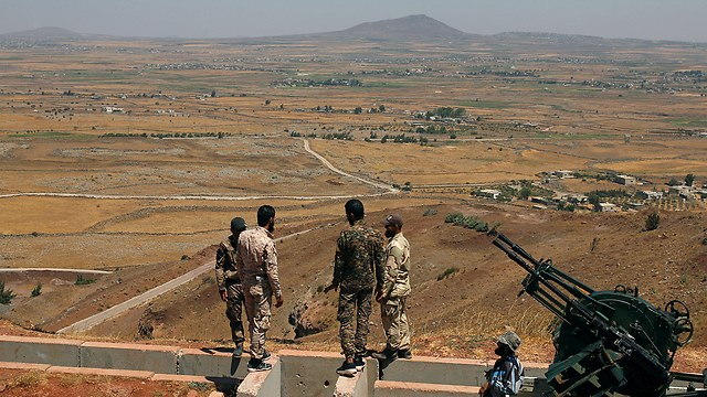 სირიაში ირანის სამხედრო ძალებმა მძიმე შეიარაღება ისრაელის საზღვრიდან 85 კმ-ში გადაიტანა