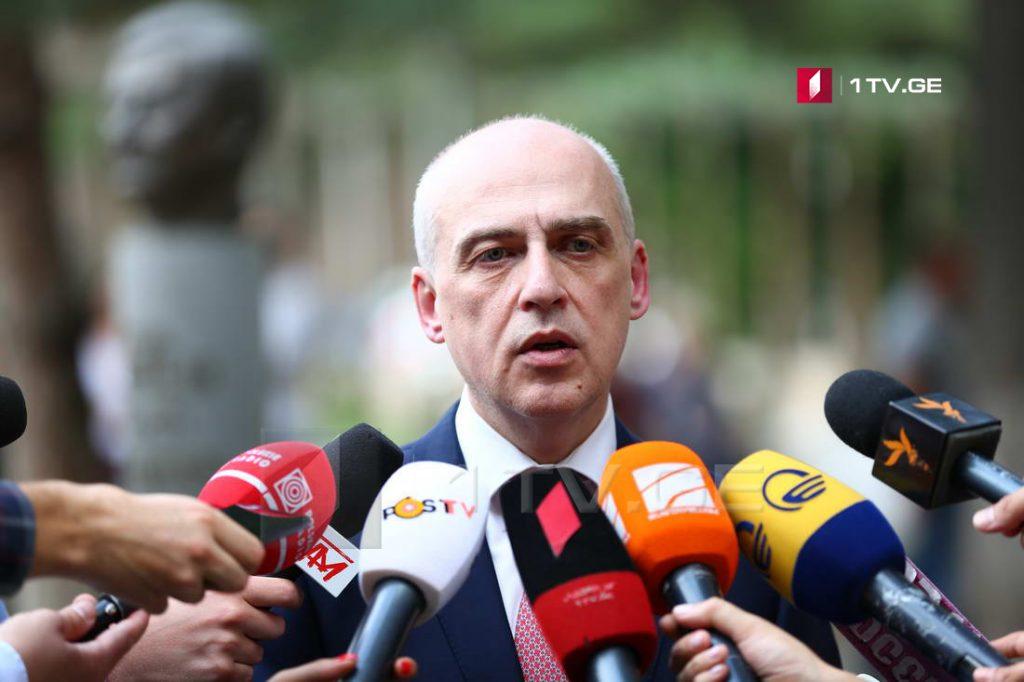 დავით ზალკალიანი - კონფლიქტის მოგვარებასა და მშვიდობისმიღწევას სჭირდება მეტი ძალისხმევა როგორც საქართველოს, ისე საერთაშორისო თანამეგობრობის მხრიდან