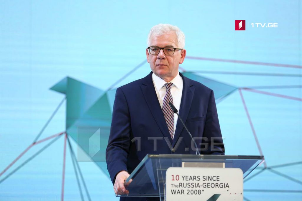 Jacek Czaputowicz – We call on Russia to reverse recognition of Georgia's occupied regions