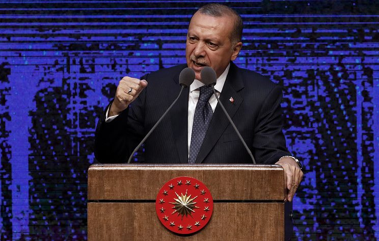 Президент Турции угрожает США ответными санкциями