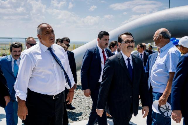 ბულგარეთისა და თურქეთის დამაკავშირებელი ახალი გაზსადენი გაიხსნა
