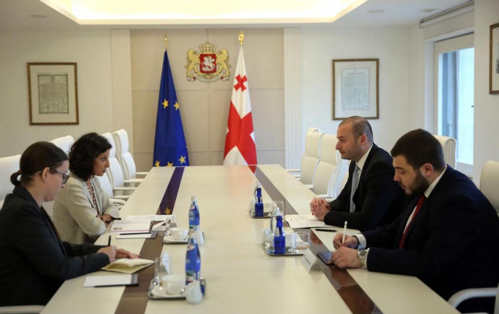 Мамука Бахтадзе встретился с руководителем Офиса связи НАТО в Грузии