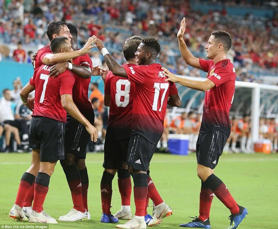 საერთაშორისო ჩემპიონთა თასი - მანჩესტერ იუნაიტედი-რეალი 2:1