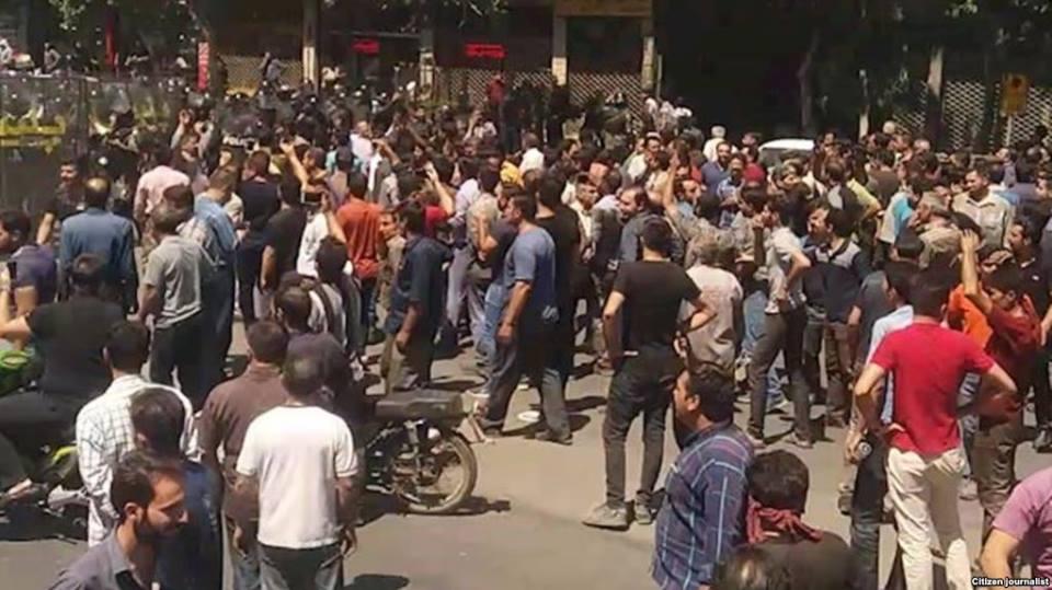 ირანში ანტისამთავრობო აქციები იმართება [ვიდეო]