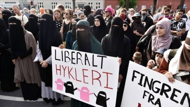 ახალი კანონმდებლობის ფარგლებში, დანიაში ნიქაბისტარებისთვის ქალი პირველად დააჯარიმეს