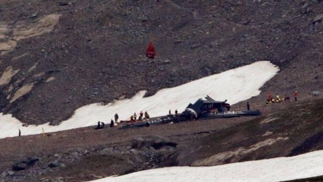 შვეიცარიაში ავიაკატასტროფას 20 ადამიანი ემსხვერპლა