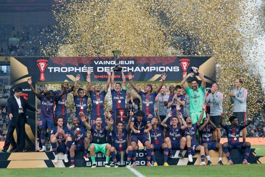Суперкубок Франции - ПСЖ - Монако 4:0