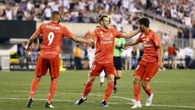 """საერთაშორისო ჩემპიონთა თასი - """"რეალი""""-""""რომა"""" 2:1 [ვიდეო]"""