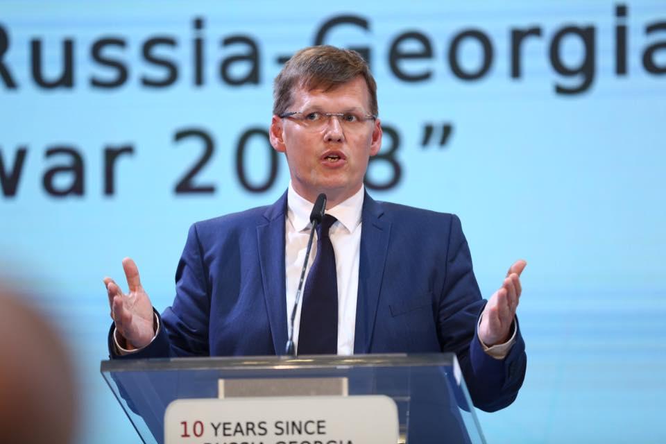 უკრაინის ვიცე-პრემიერი - მოვუწოდებთ რუსეთს, გაიყვანოს თავისი სამხედრო დანაყოფები საქართველოსა და უკრაინის ტერიტორიიდან