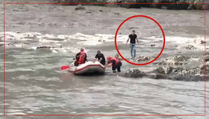 ბიჭი, რომელმაც მდინარე რიონში მამაკაცი გადაარჩინა, მე-3 ქვეითი ბრიგადის ჯარისკაცი გოგა გოგლიჩაძეა