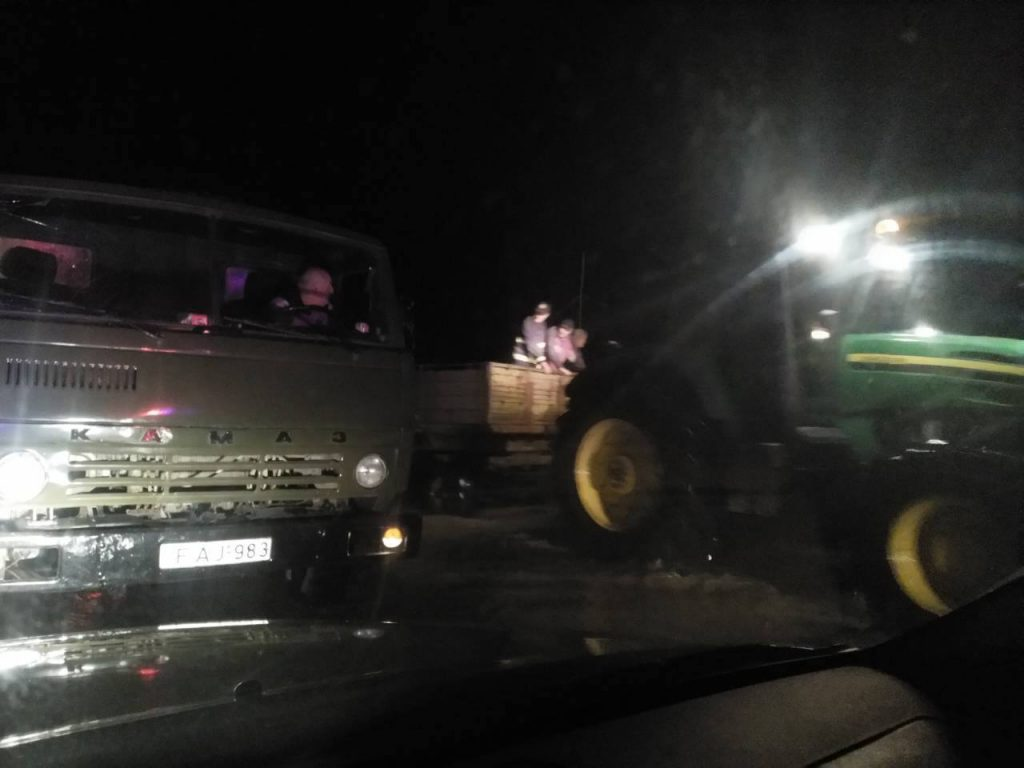 Из-за выхода из берегов реки Абашисцкали, в селах Цкемси и Занати идет эвакуация местного населения