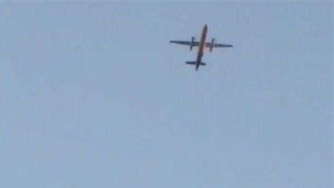 სიეტლის აეროპორტიდან გატაცებული თვითმფრინავი ჩამოვარდა