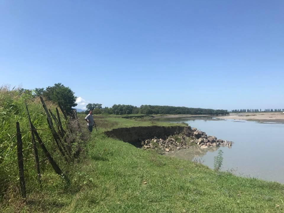 სოფლებისჭყვიშისა და ჭაგანისტერიტორიაზე, მდინარე რიონზე ნაპირსამაგრი სამუშაოები ჩატარდება