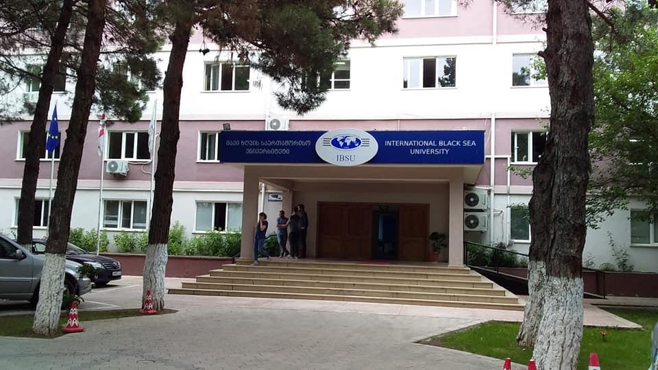 შავი ზღვის საერთაშორისო უნივერსიტეტის რექტორი თამარსანიკიძეს შეხვდა