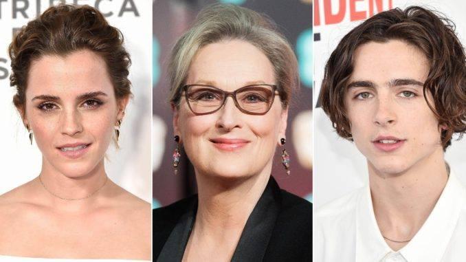 ჰარი პოტერის ვარსკვლავ ემა უოთსონს სხვა ცნობილ მსახიობებთან ერთად ფილმში Little Women გადაიღებენ