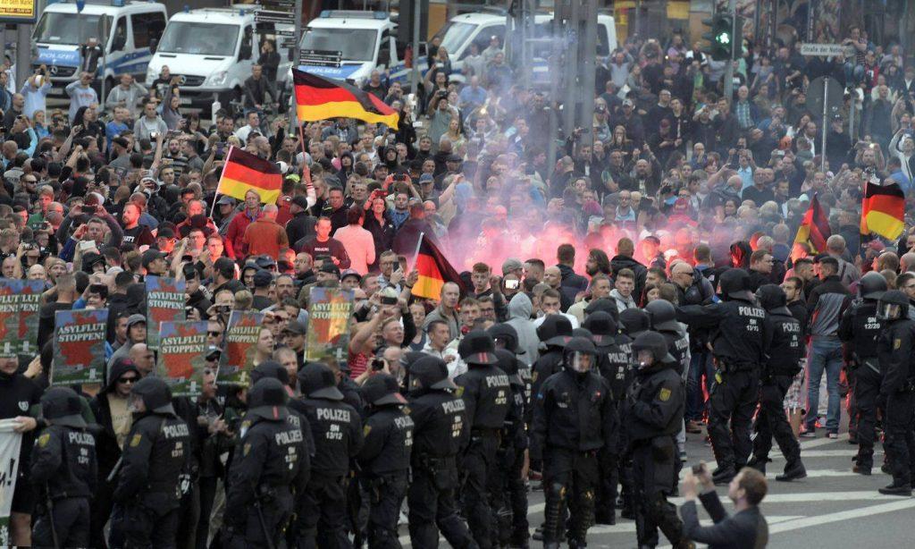 გერმანიაში ულტრამემარჯვენე და მემარცხენე ძალების დაპირისპირების შედეგად რამდენიმე ადამიანი დაშავდა