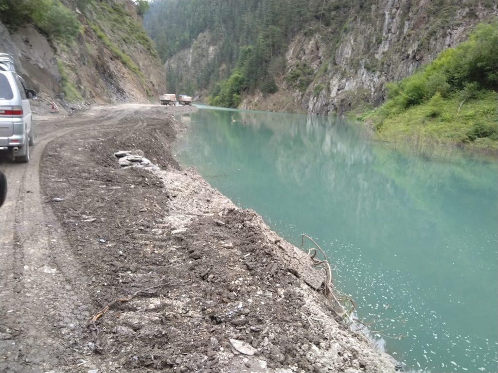 Открылась дорога по направлению Пшавели-Абано-Тушети