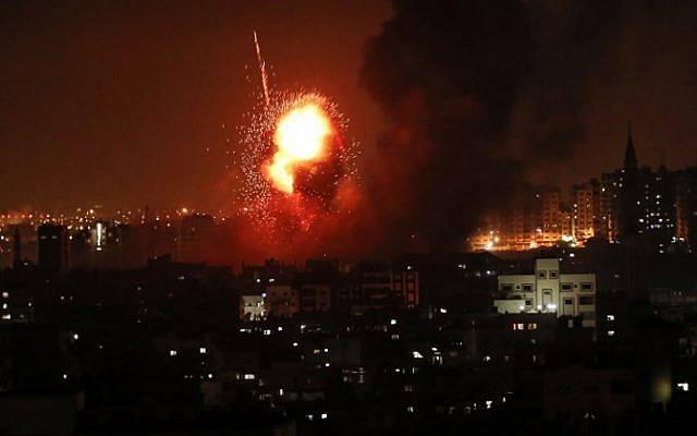 ღაზას სექტორიდან ისრაელის ტერიტორიის დაბომბვას ერთი ადამიანი ემსხვერპლა, 19 კი დაშავდა