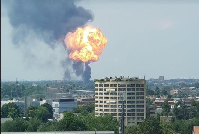 В аэропорту Болоньи прогремел мощный взрыв