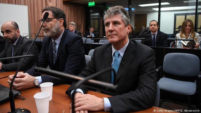 Бывшему вице-президенту Аргентины присудили пятилетнее заключение